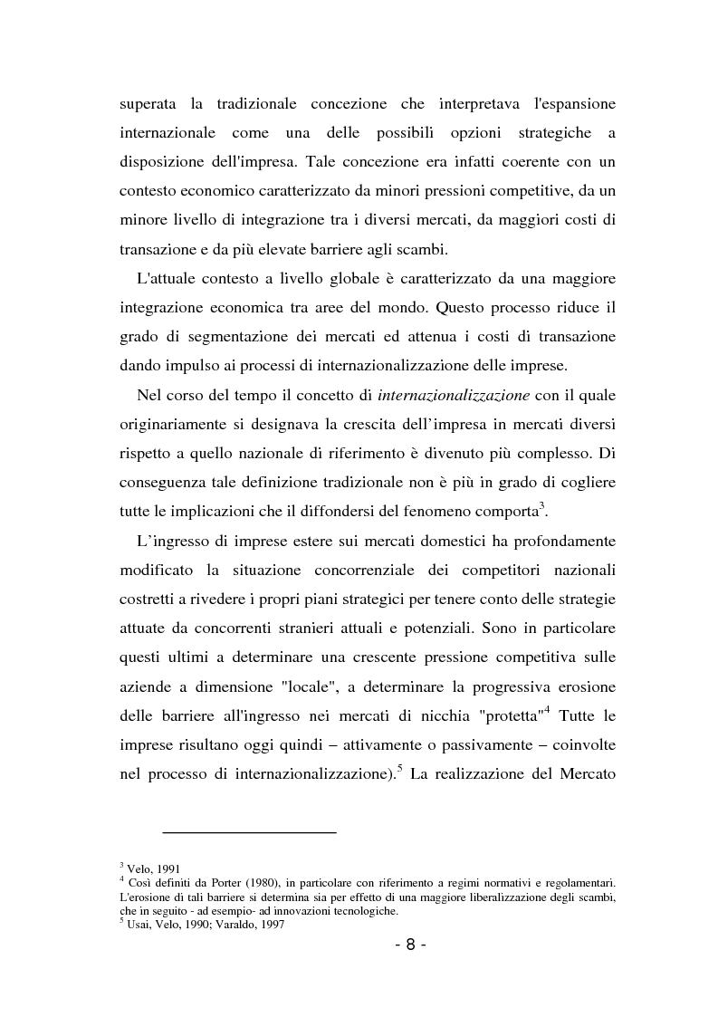 Anteprima della tesi: L'insediamento produttivo all'estero, Pagina 5