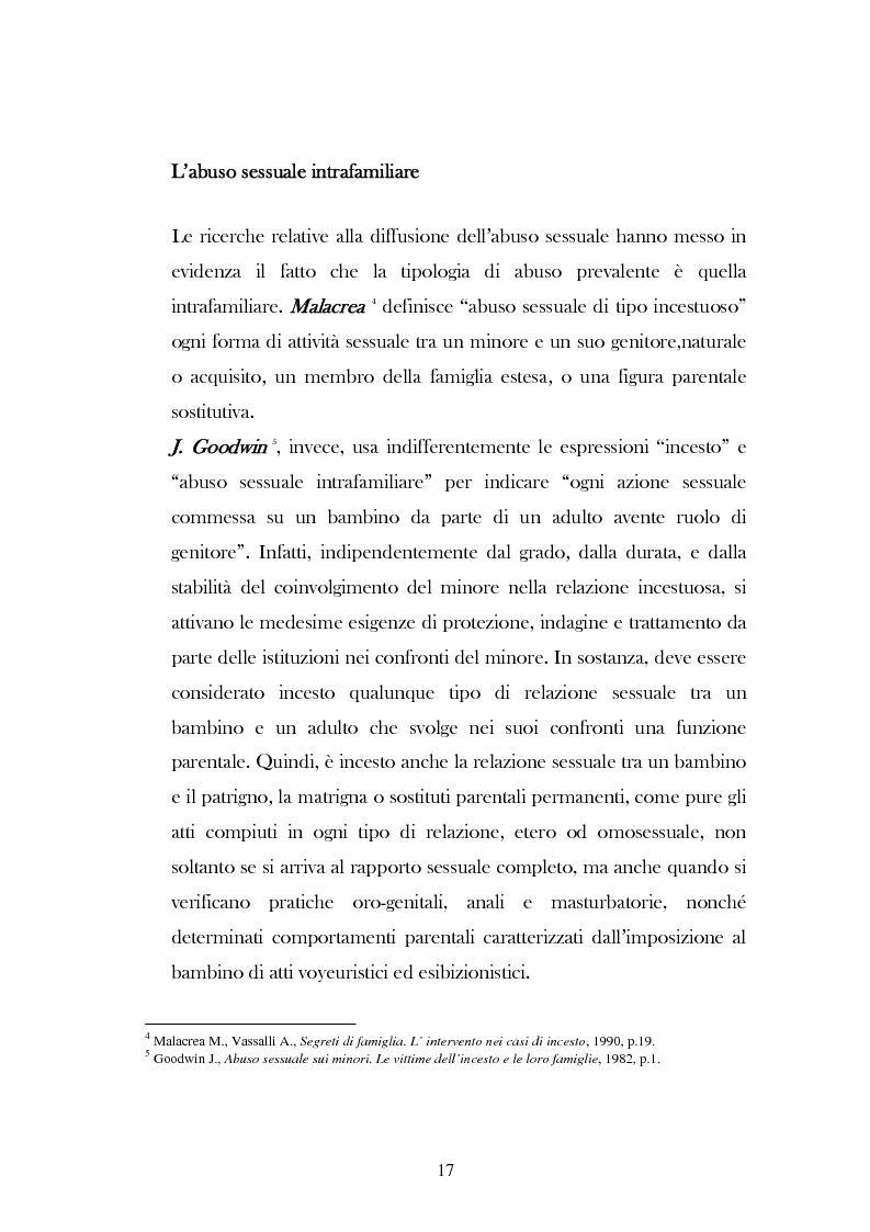 """Anteprima della tesi: L'analisi del discorso di un caso di abuso minorile presente nella Casa Famiglia """"S.O.S. adolescenza"""", Pagina 14"""