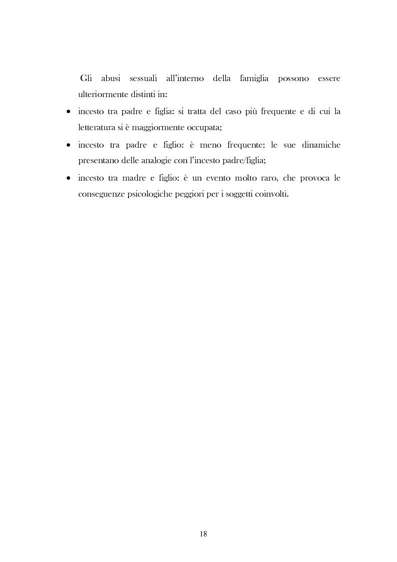 """Anteprima della tesi: L'analisi del discorso di un caso di abuso minorile presente nella Casa Famiglia """"S.O.S. adolescenza"""", Pagina 15"""