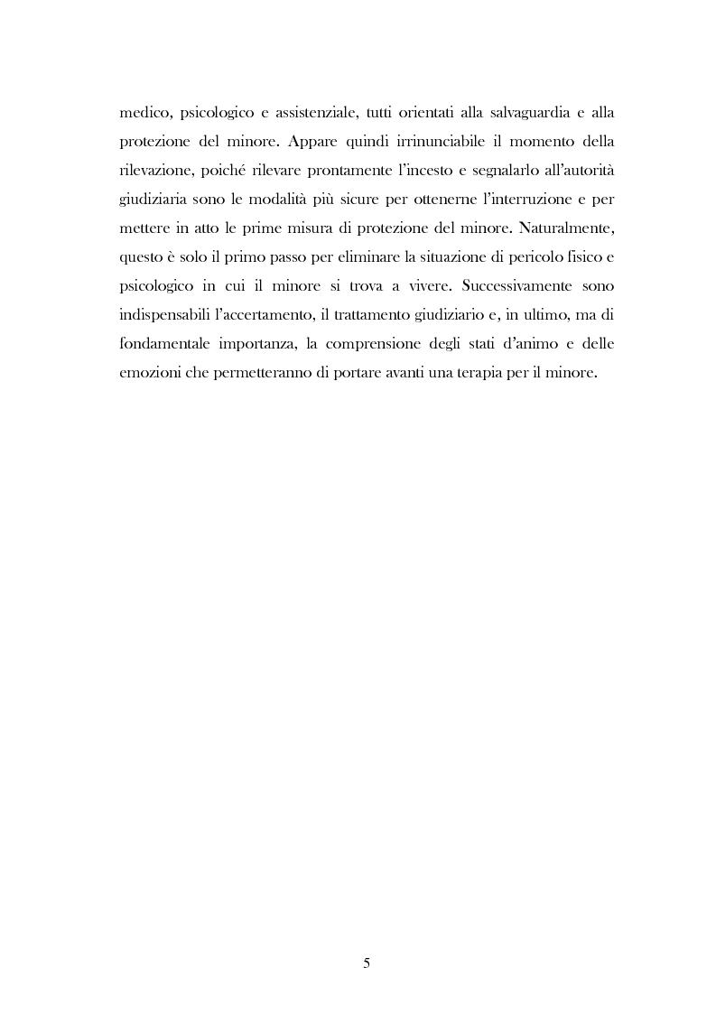 """Anteprima della tesi: L'analisi del discorso di un caso di abuso minorile presente nella Casa Famiglia """"S.O.S. adolescenza"""", Pagina 2"""