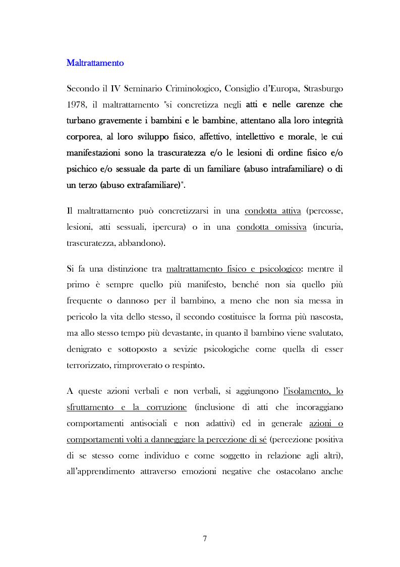 """Anteprima della tesi: L'analisi del discorso di un caso di abuso minorile presente nella Casa Famiglia """"S.O.S. adolescenza"""", Pagina 4"""