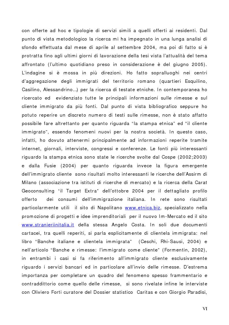 Anteprima della tesi: Il Cliente Immigrato: il caso Angelo Costa, Pagina 6