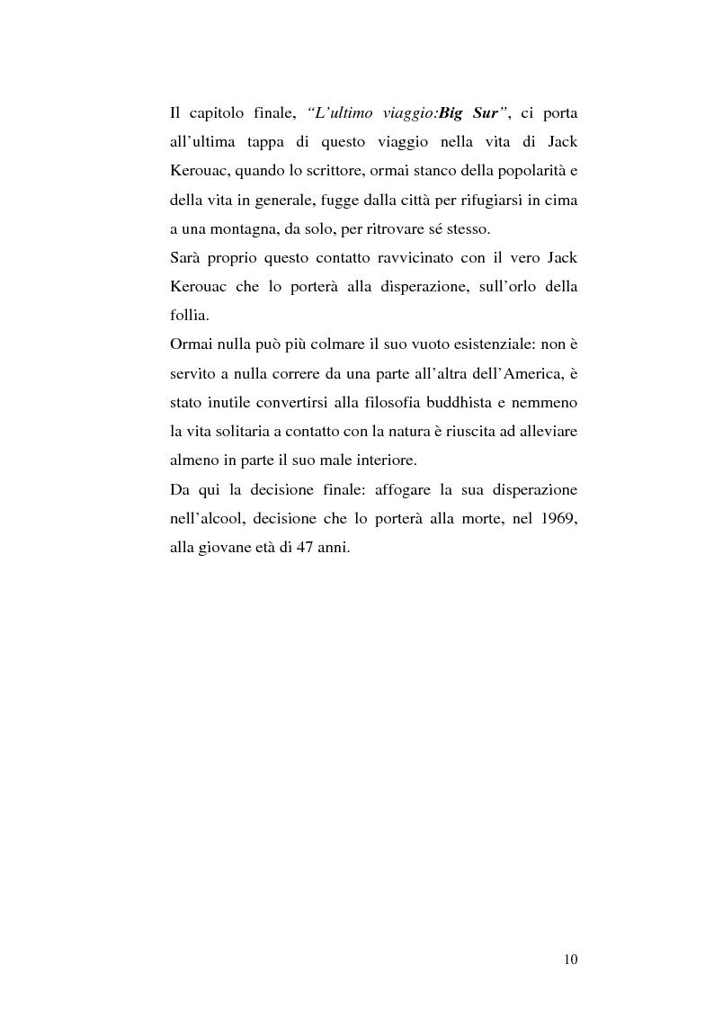 Anteprima della tesi: Il viaggio autobiografico di Jack Kerouac, Pagina 10