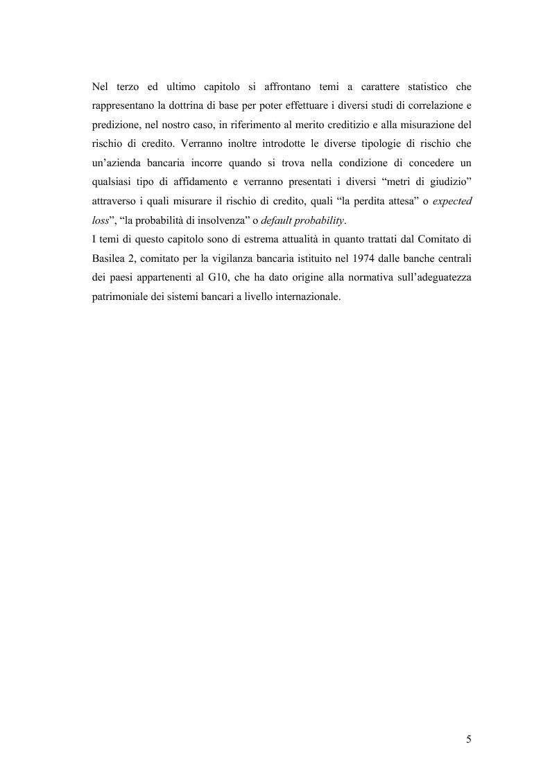 Anteprima della tesi: La valutazione della solvibilità del cliente nelle società di credito al consumo. Il caso Santander Consumer Bank., Pagina 2