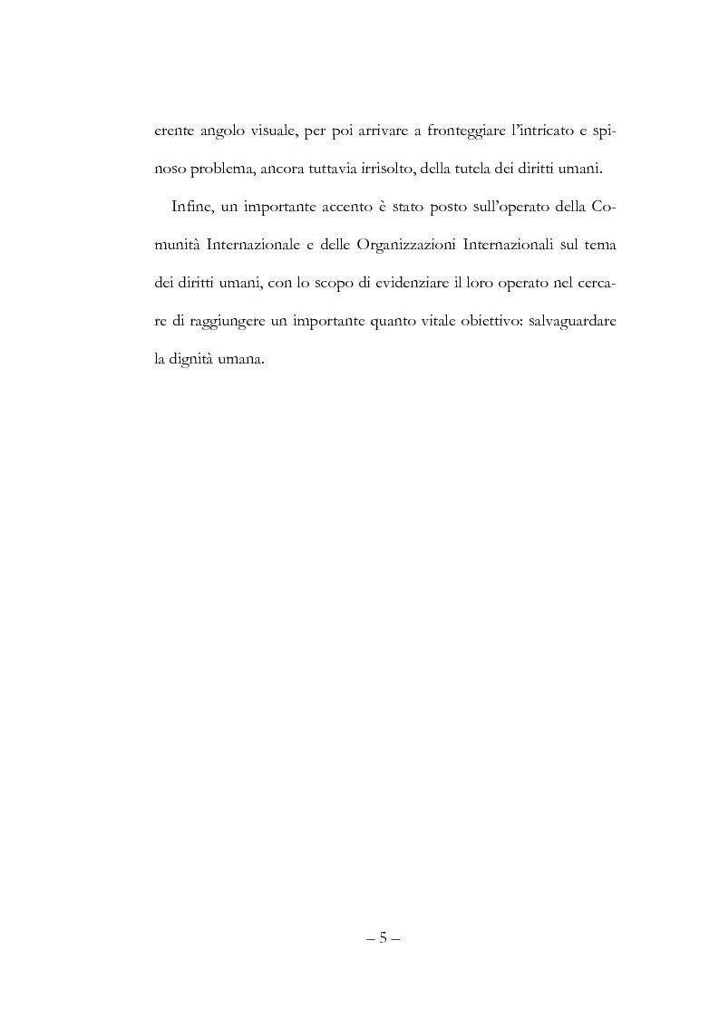 Anteprima della tesi: Globalizzazione, democrazia e diritti umani, Pagina 5