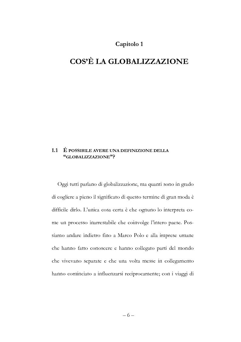 Anteprima della tesi: Globalizzazione, democrazia e diritti umani, Pagina 6