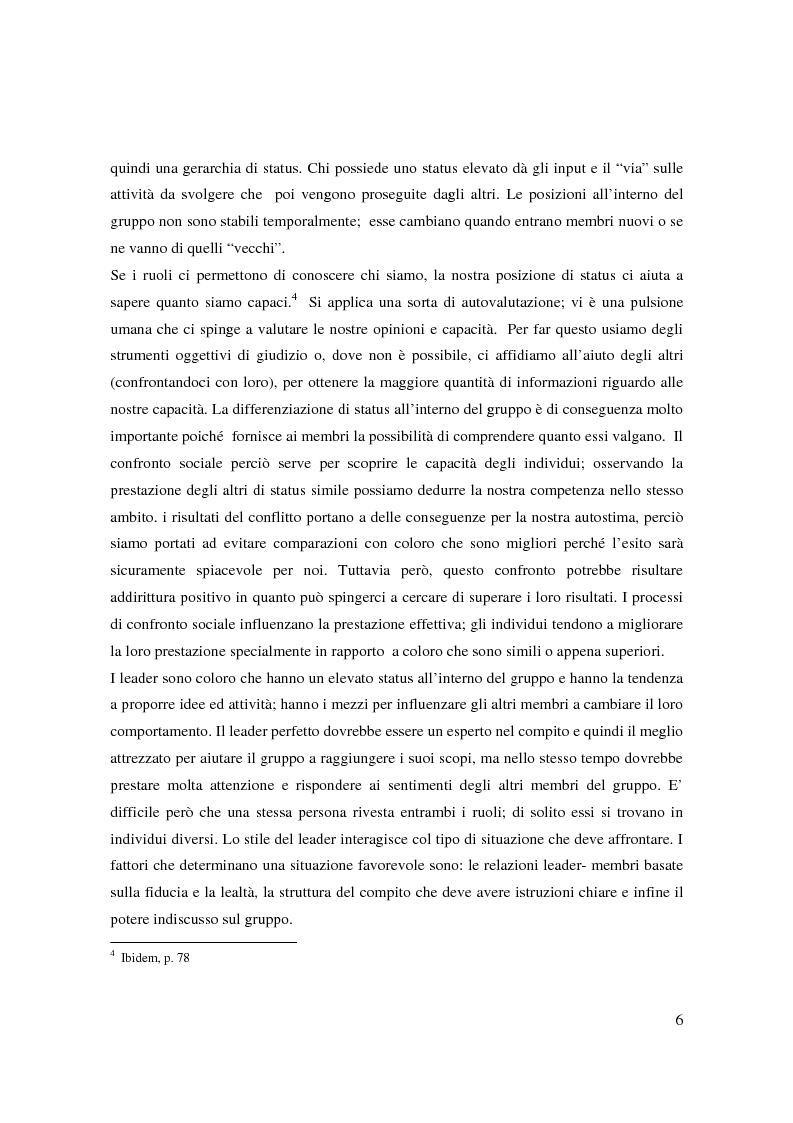 Anteprima della tesi: Il bullismo e le dinamiche di gruppo nel contesto scolastico, Pagina 5