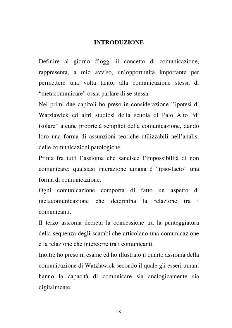 Anteprima della tesi: La comunicazione e l'educazione a scuola: analisi e proposte, Pagina 7