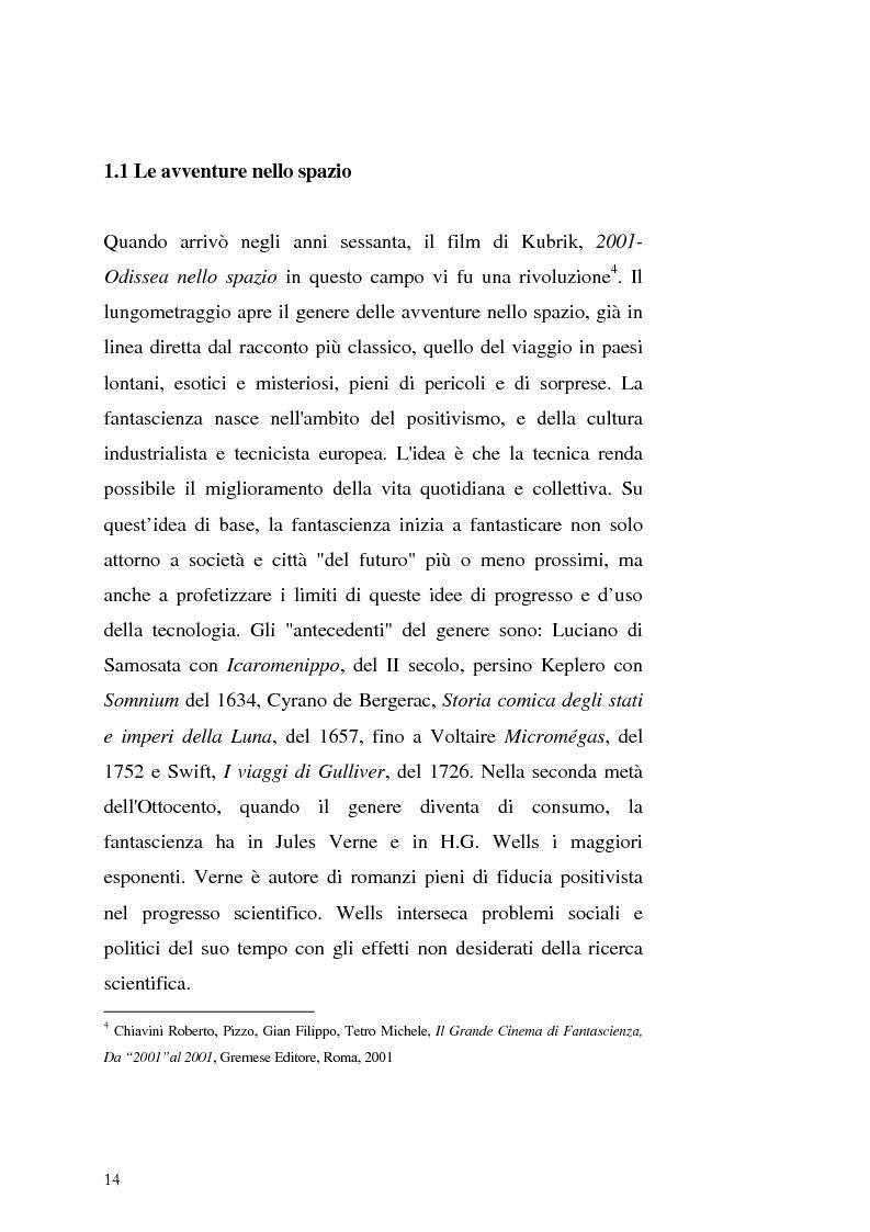 Anteprima della tesi: Le Proiezioni nel tempo: Il tema della macchina del tempo tra cinema analogico e cinema digitale, Pagina 10