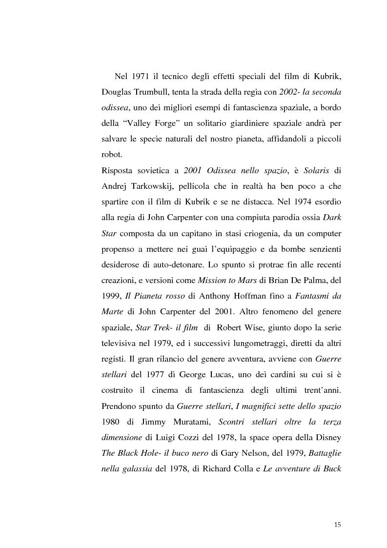 Anteprima della tesi: Le Proiezioni nel tempo: Il tema della macchina del tempo tra cinema analogico e cinema digitale, Pagina 11