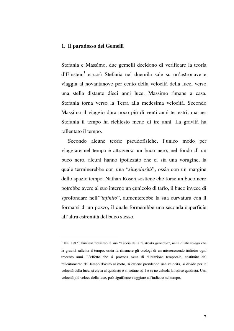 Anteprima della tesi: Le Proiezioni nel tempo: Il tema della macchina del tempo tra cinema analogico e cinema digitale, Pagina 3