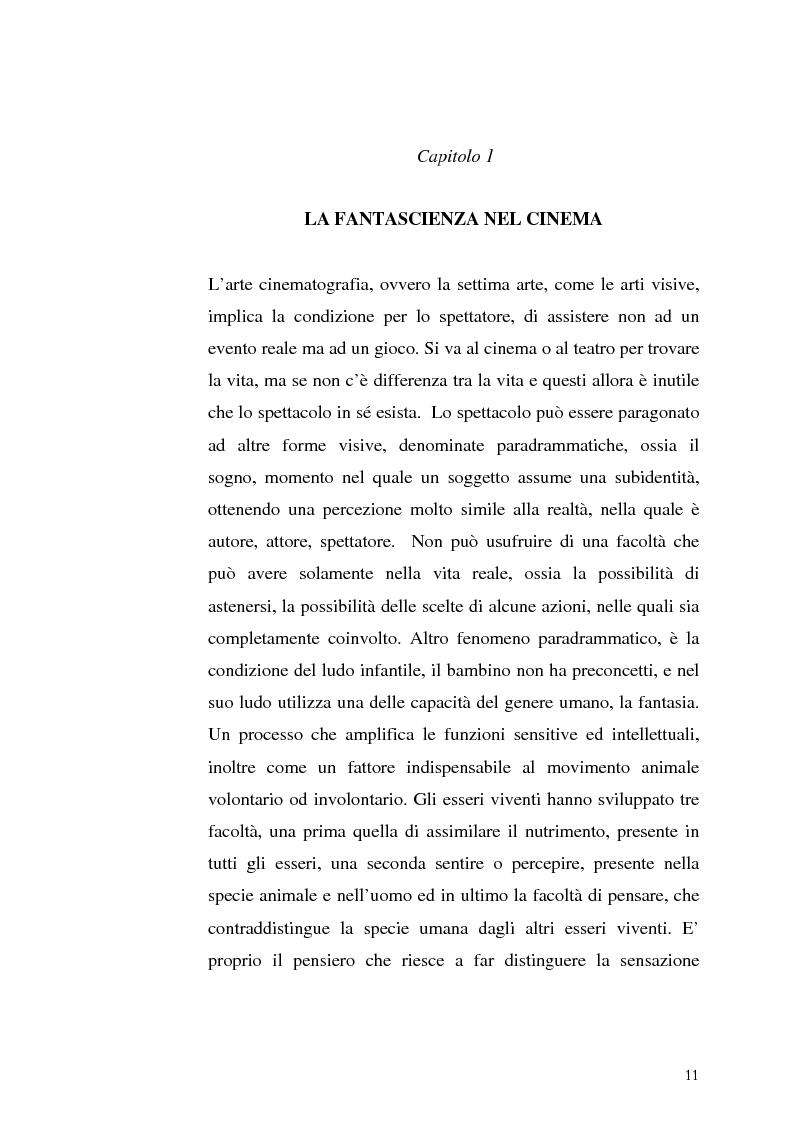 Anteprima della tesi: Le Proiezioni nel tempo: Il tema della macchina del tempo tra cinema analogico e cinema digitale, Pagina 7