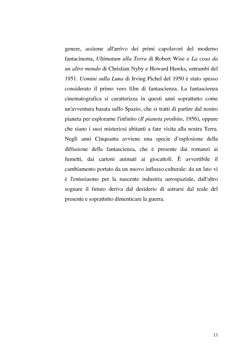 Anteprima della tesi: Le Proiezioni nel tempo: Il tema della macchina del tempo tra cinema analogico e cinema digitale, Pagina 9