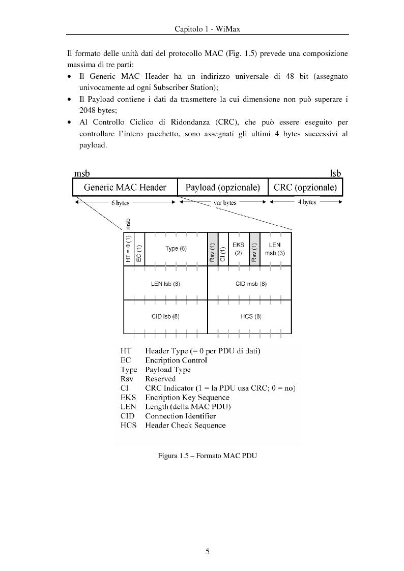 Anteprima della tesi: Implementazione di algoritmi della catena di trasmissione / ricezione a livello fisico su architettura riconfigurabile, Pagina 5