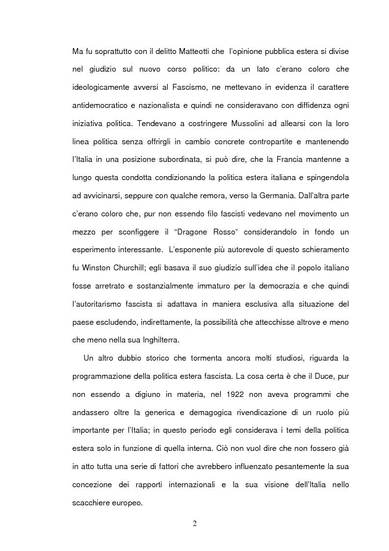 Anteprima della tesi: La seconda guerra mondiale nelle prime pagine del Corriere della Sera, Pagina 4