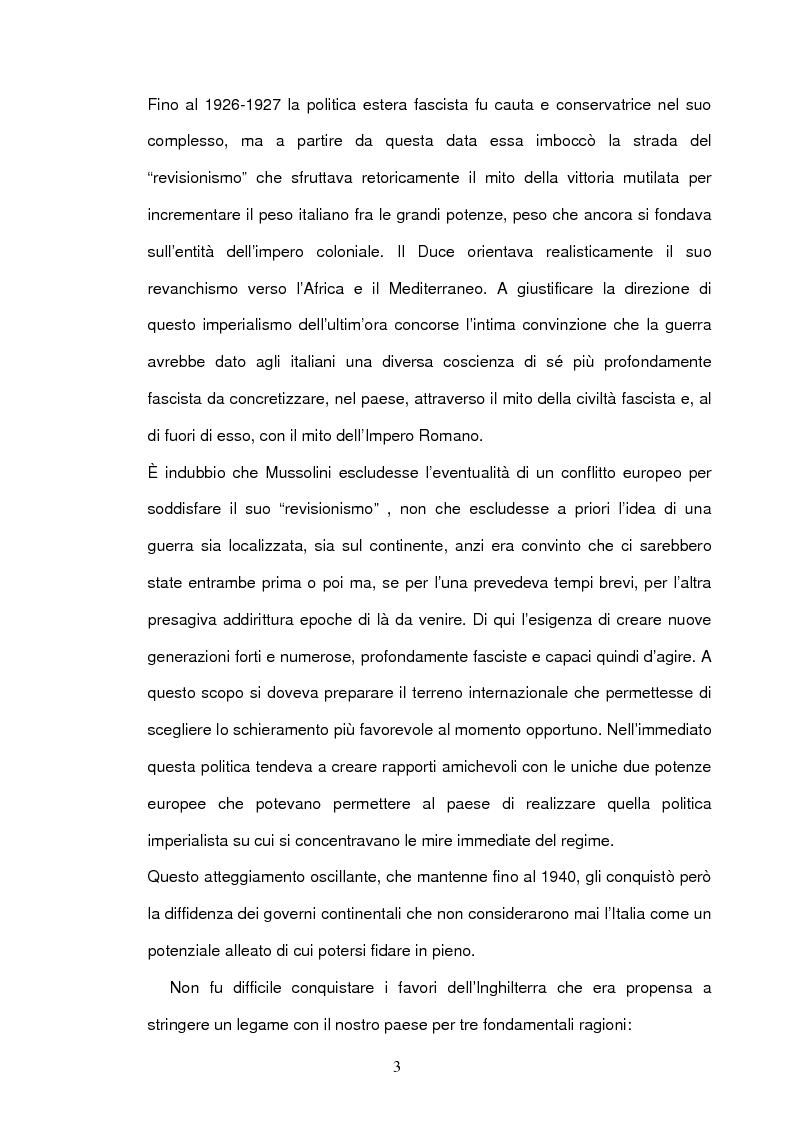 Anteprima della tesi: La seconda guerra mondiale nelle prime pagine del Corriere della Sera, Pagina 5