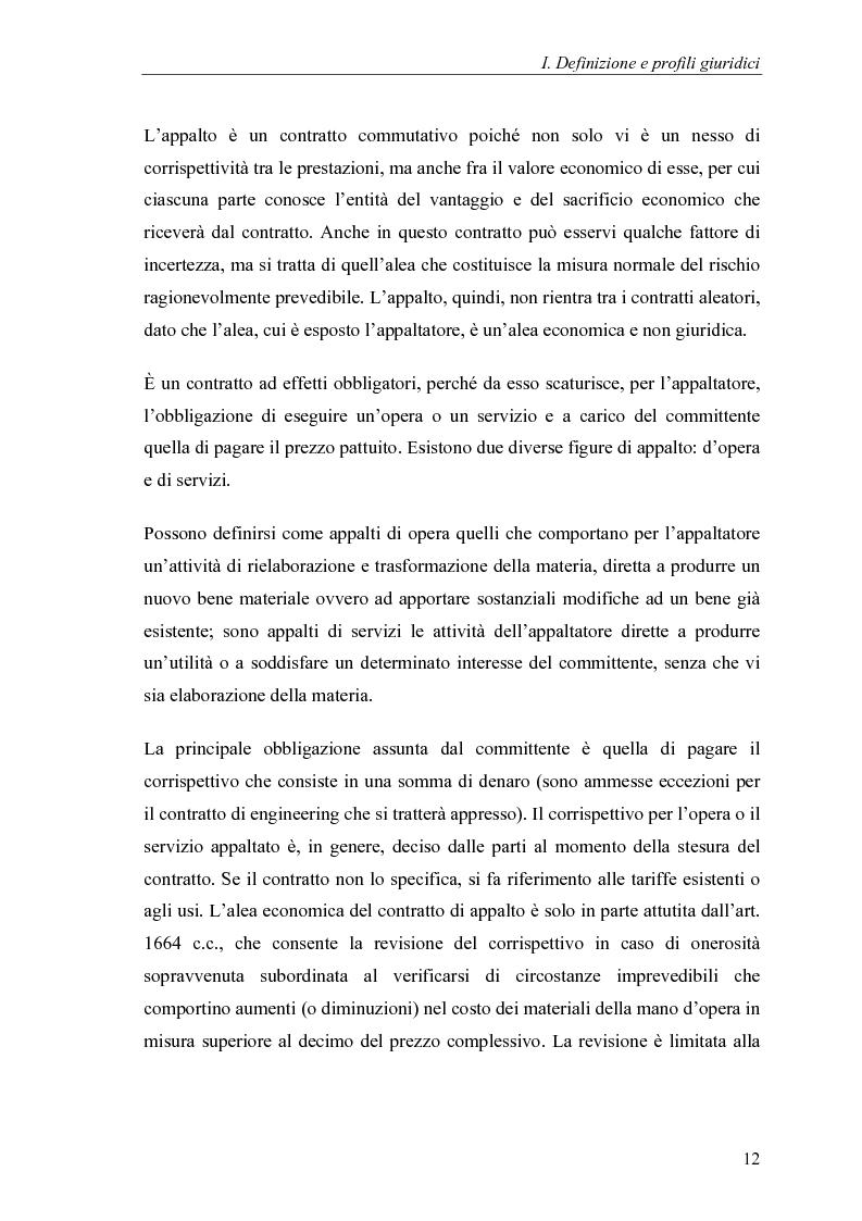 Anteprima della tesi: Commesse in corso di lavorazione, aspetti contabili e fiscali, Pagina 10
