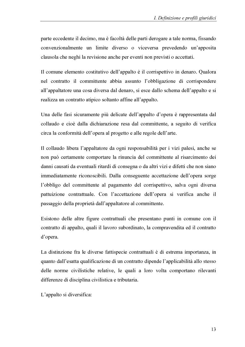Anteprima della tesi: Commesse in corso di lavorazione, aspetti contabili e fiscali, Pagina 11