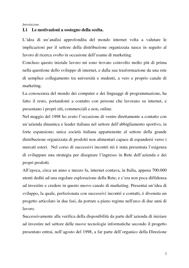 Anteprima della tesi: Le tecnologie dell'informazione a supporto della fidelizzazione della clientela: un caso di applicazione, Pagina 2
