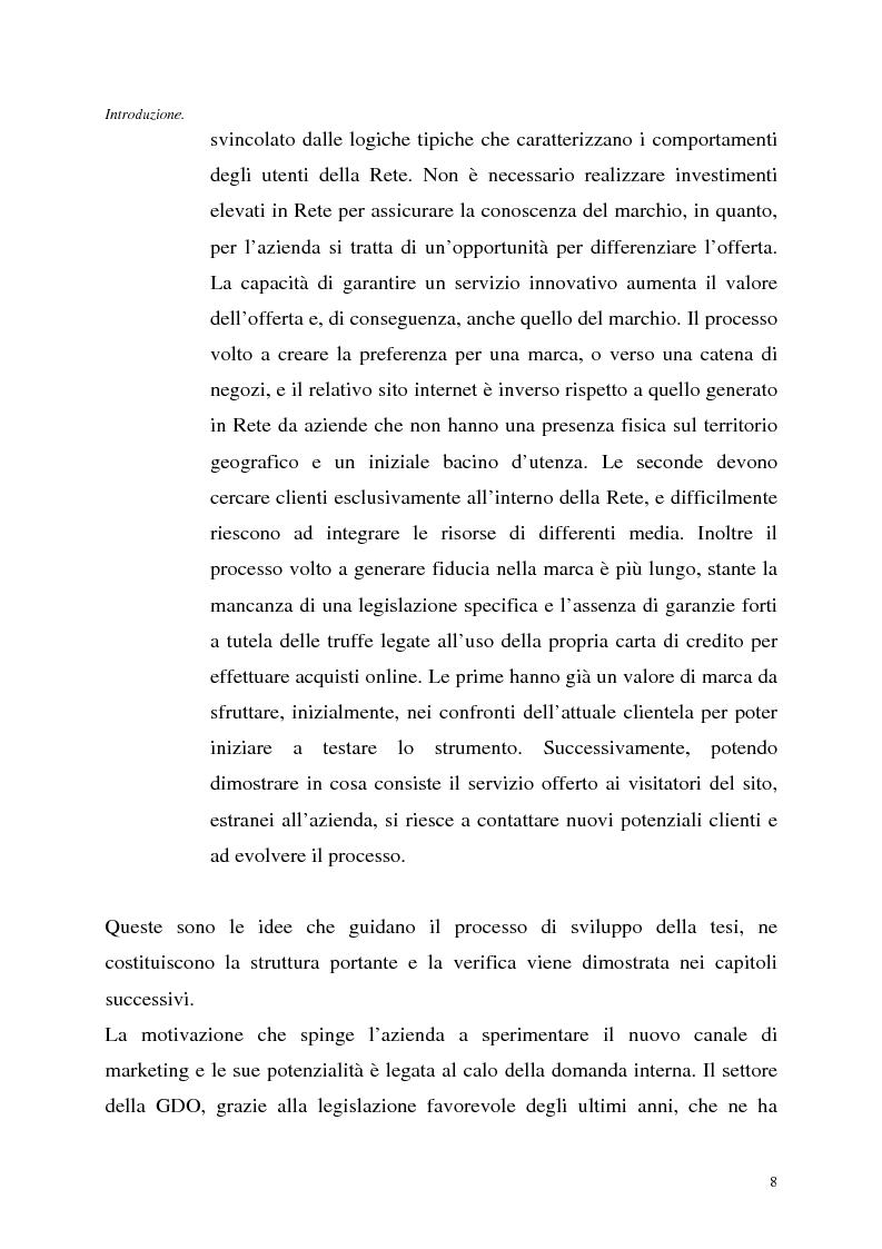 Anteprima della tesi: Le tecnologie dell'informazione a supporto della fidelizzazione della clientela: un caso di applicazione, Pagina 8