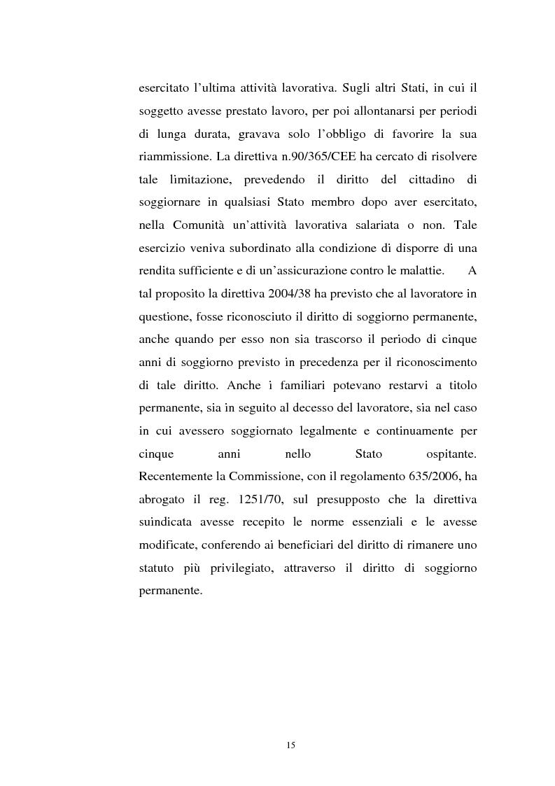 Anteprima della tesi: La politica migratoria dell'Unione Europea, Pagina 11
