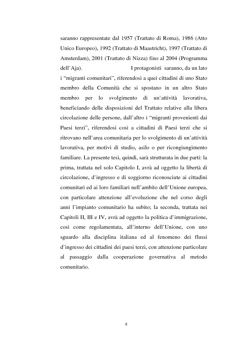 Anteprima della tesi: La politica migratoria dell'Unione Europea, Pagina 4