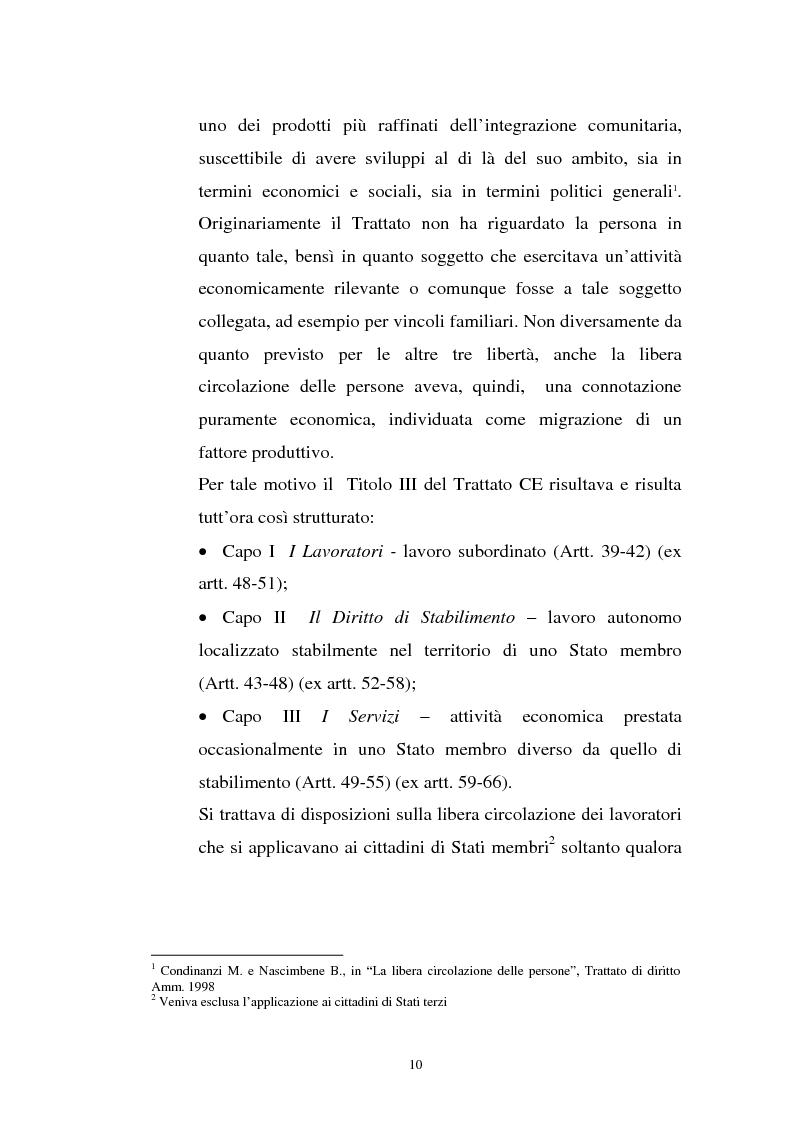 Anteprima della tesi: La politica migratoria dell'Unione Europea, Pagina 6