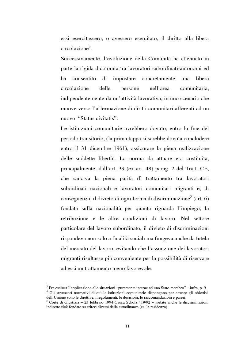 Anteprima della tesi: La politica migratoria dell'Unione Europea, Pagina 7