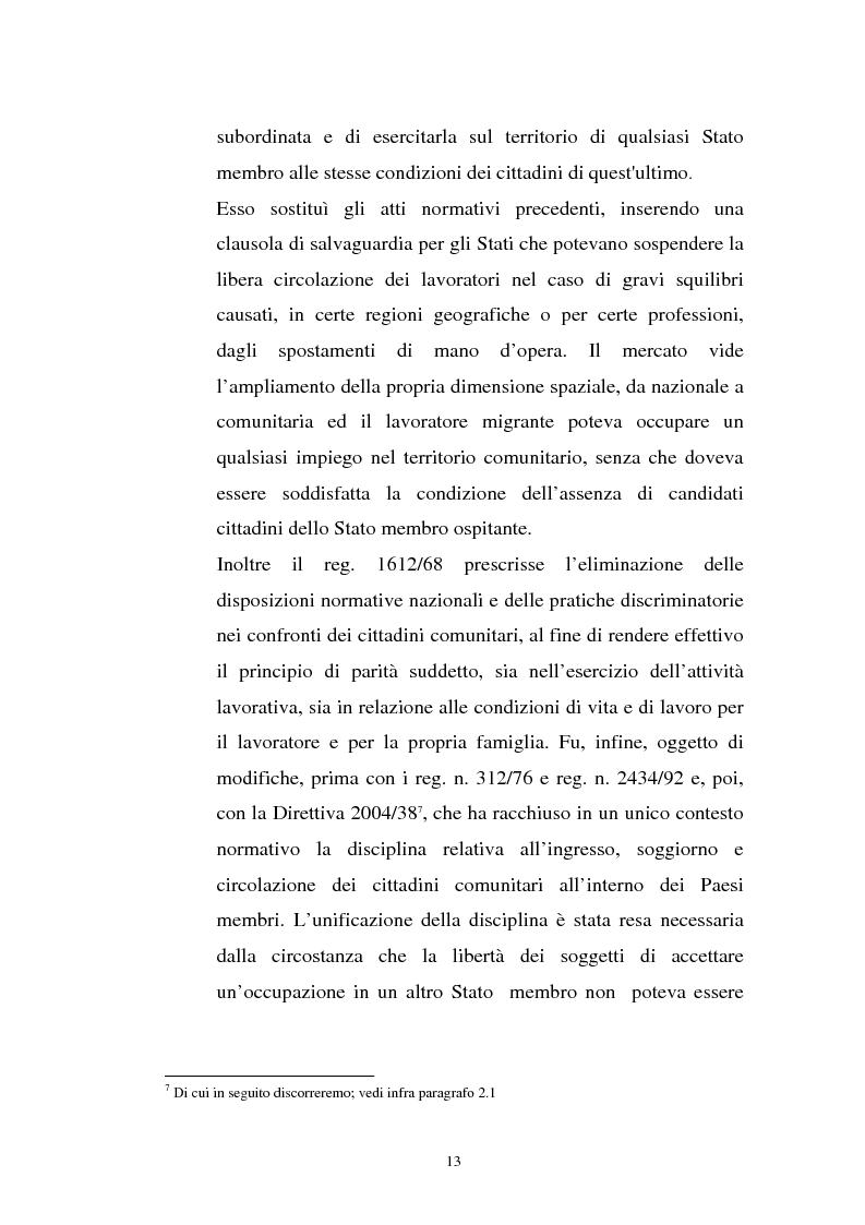 Anteprima della tesi: La politica migratoria dell'Unione Europea, Pagina 9