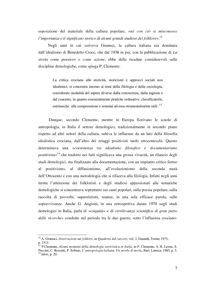Anteprima della tesi: I percorsi del museo. Orientamenti della museografia demologica in Italia, Pagina 12
