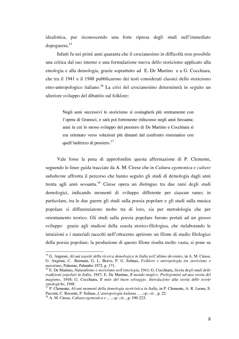 Anteprima della tesi: I percorsi del museo. Orientamenti della museografia demologica in Italia, Pagina 13