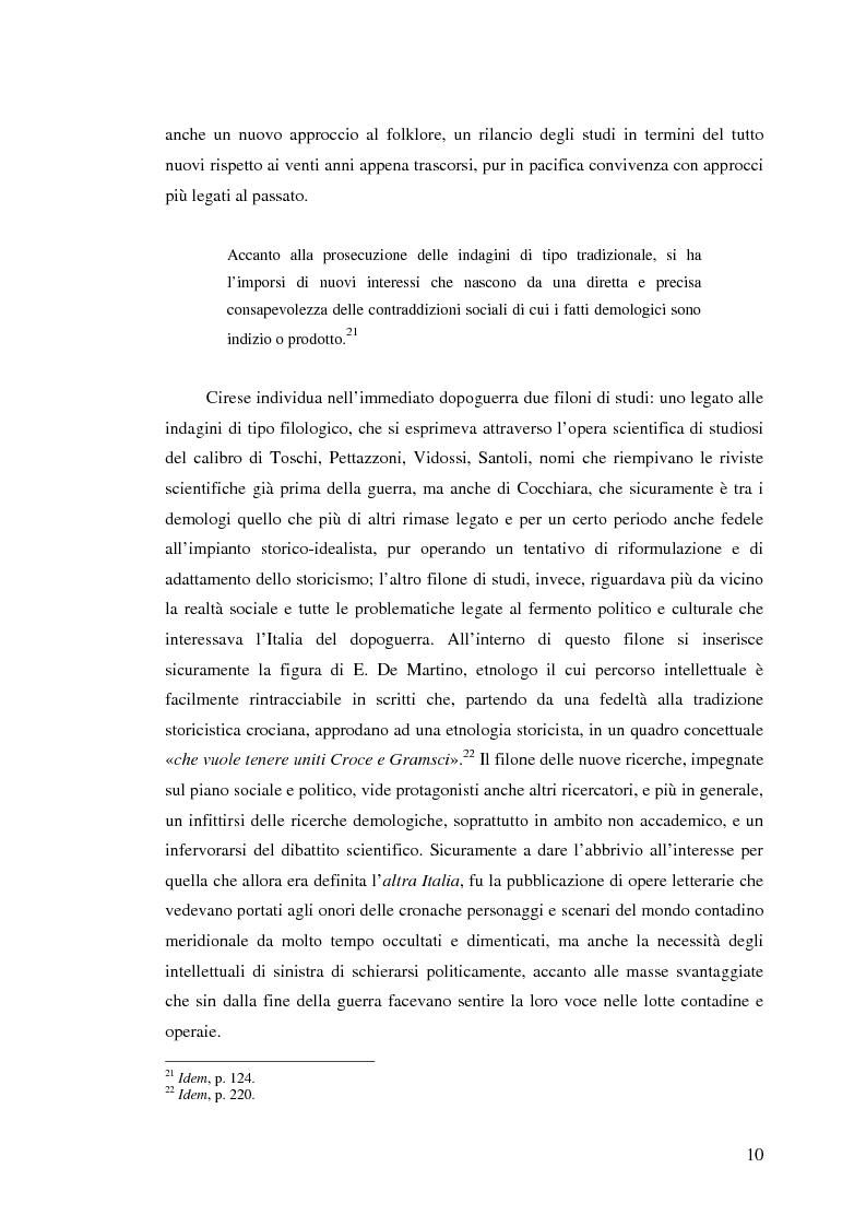 Anteprima della tesi: I percorsi del museo. Orientamenti della museografia demologica in Italia, Pagina 15