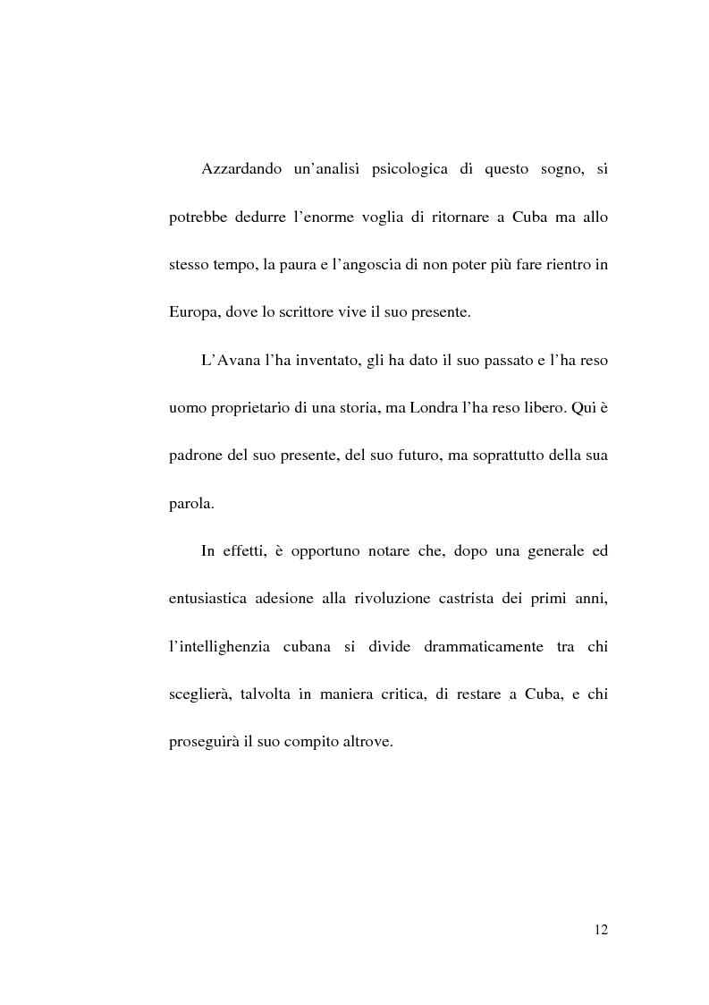 Anteprima della tesi: Tres Tristes Tigres di Guillermo Cabrera Infante: un'opera singolare della narrativa ispano-americana, Pagina 10