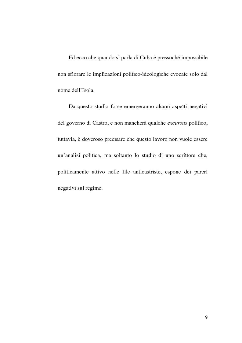 Anteprima della tesi: Tres Tristes Tigres di Guillermo Cabrera Infante: un'opera singolare della narrativa ispano-americana, Pagina 7