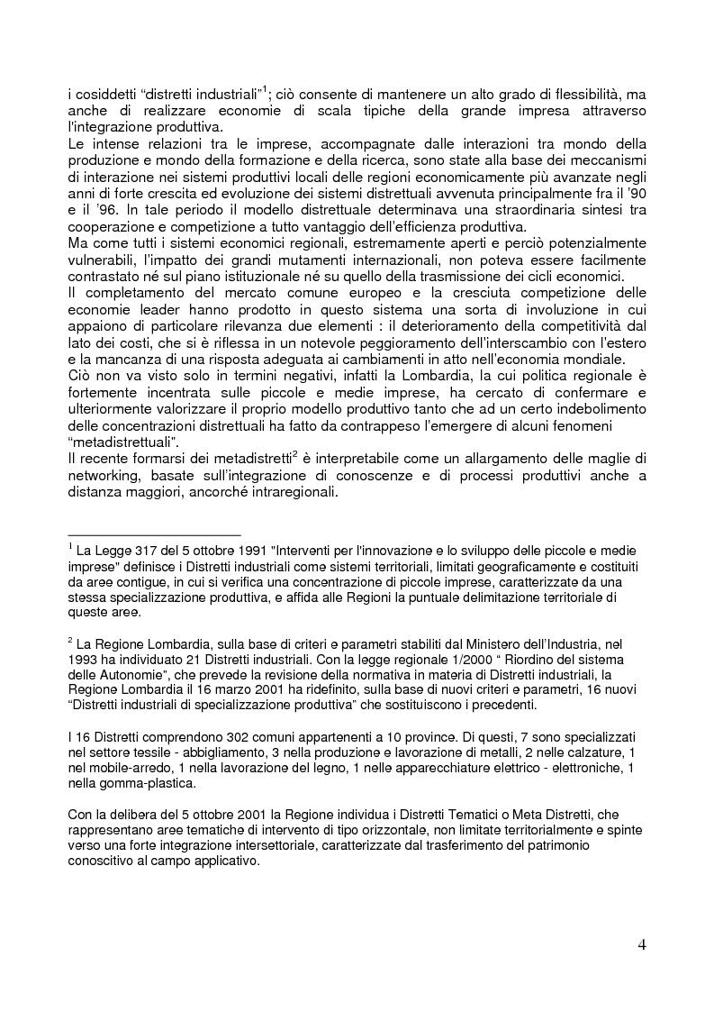 Anteprima della tesi: L'export delle province italiane: l'internazionalizzazione delle imprese lombarde, Pagina 2