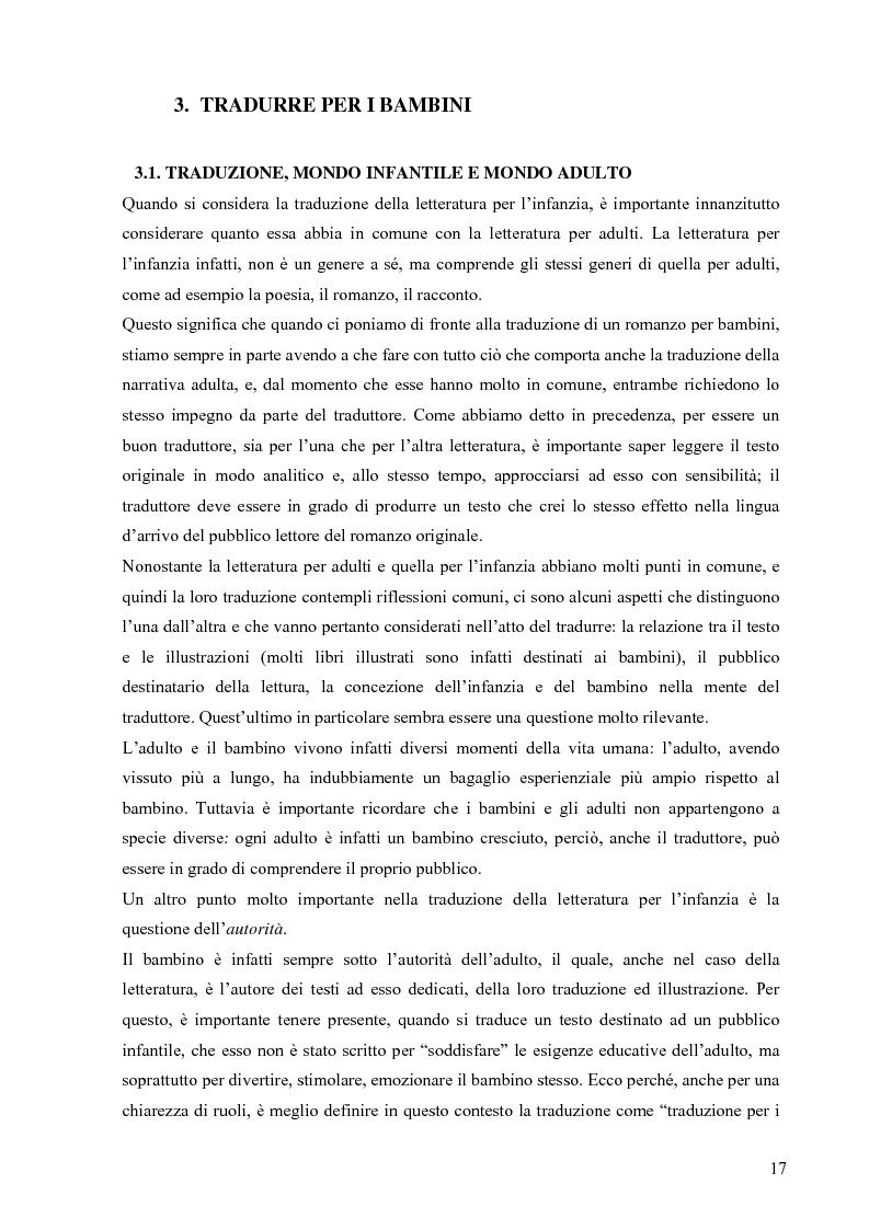 Anteprima della tesi: Il mondo magico del bambino e la traduzione dei nomi in Harry Potter, Pagina 10