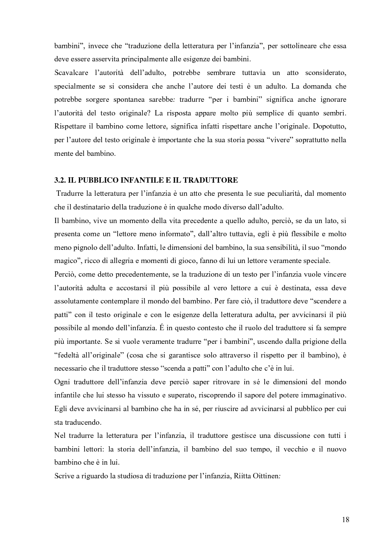 Anteprima della tesi: Il mondo magico del bambino e la traduzione dei nomi in Harry Potter, Pagina 11