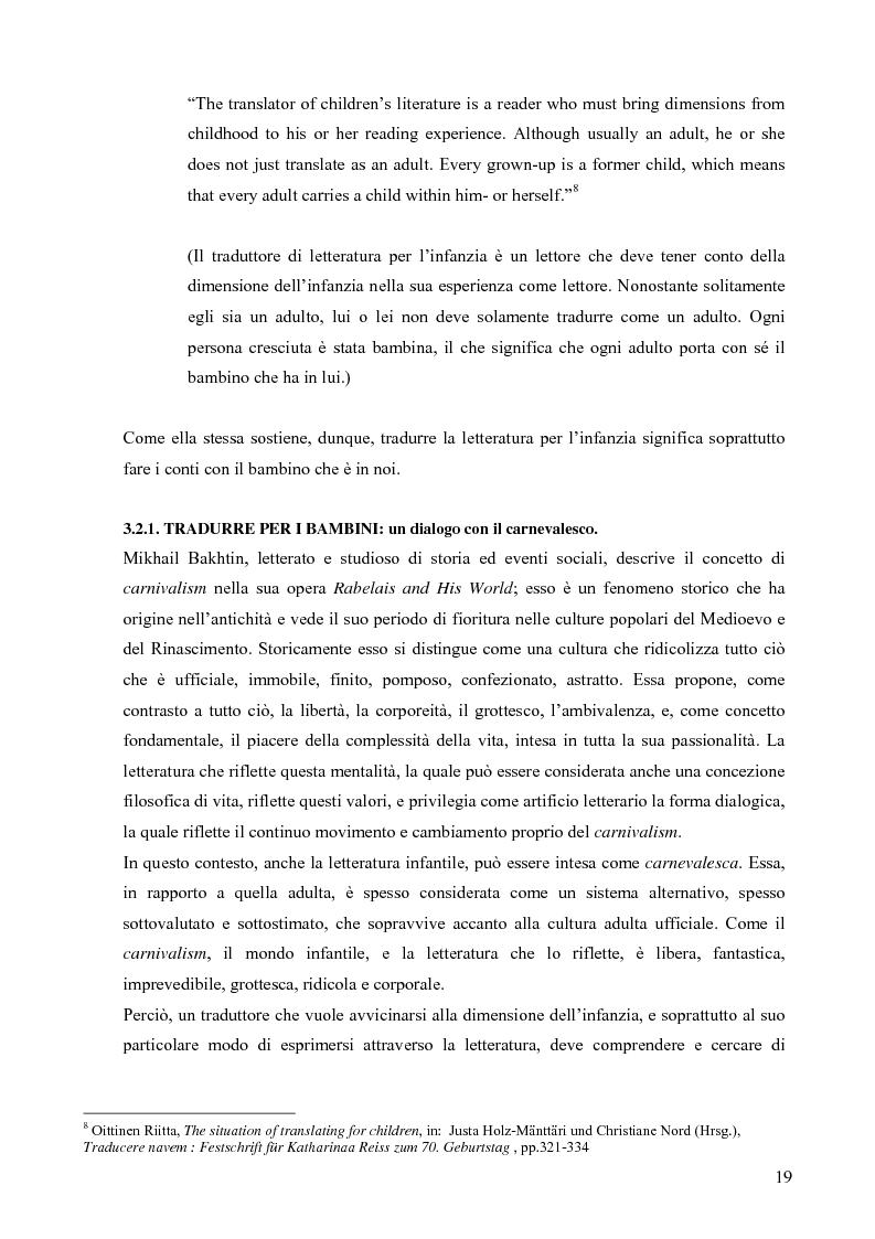 Anteprima della tesi: Il mondo magico del bambino e la traduzione dei nomi in Harry Potter, Pagina 12