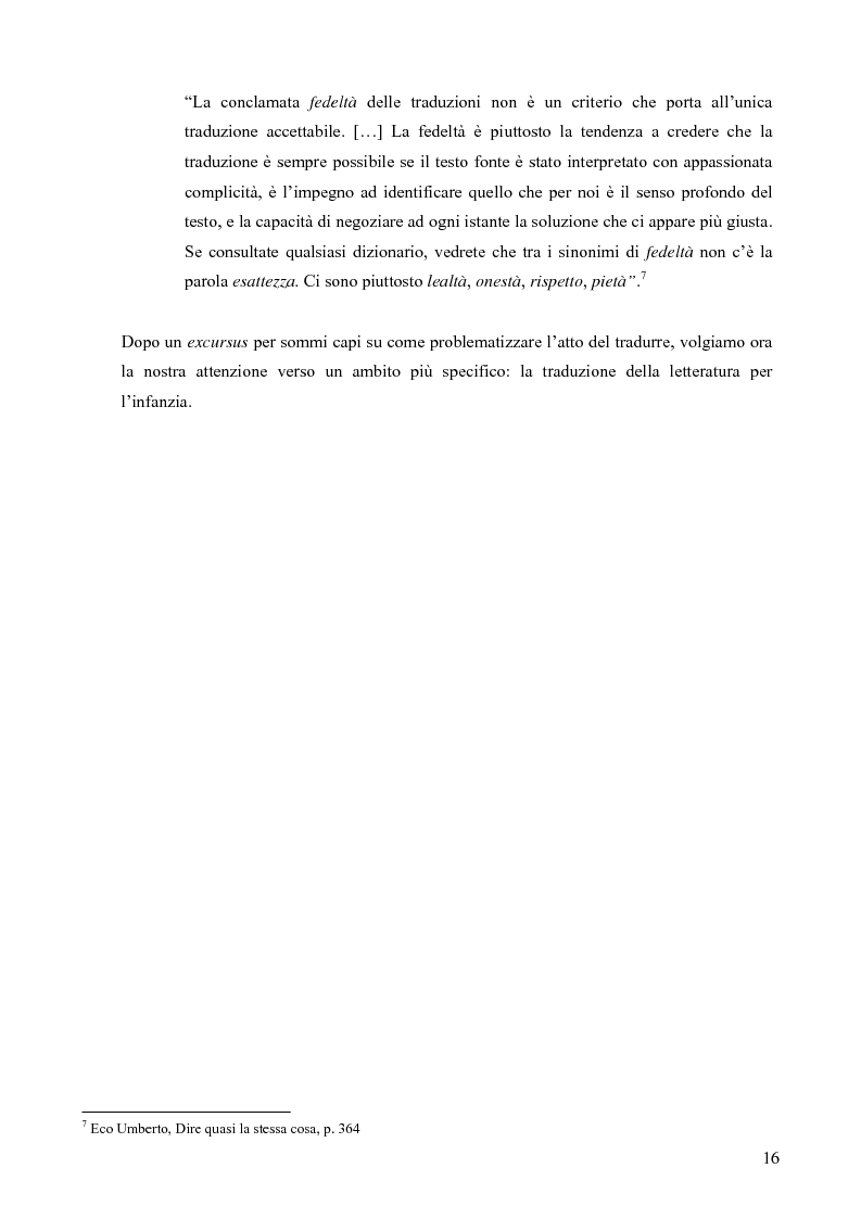 Anteprima della tesi: Il mondo magico del bambino e la traduzione dei nomi in Harry Potter, Pagina 9