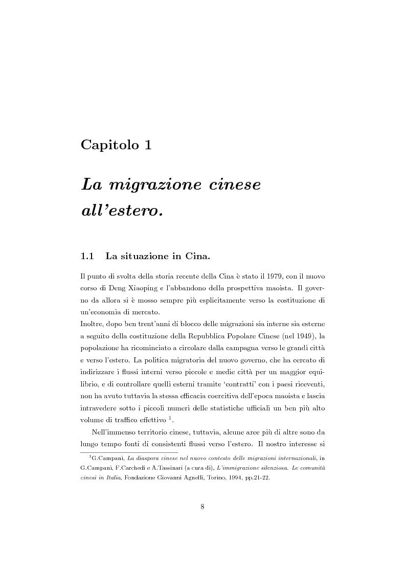 Anteprima della tesi: Cinesi di seconda generazione a Torino, Pagina 5