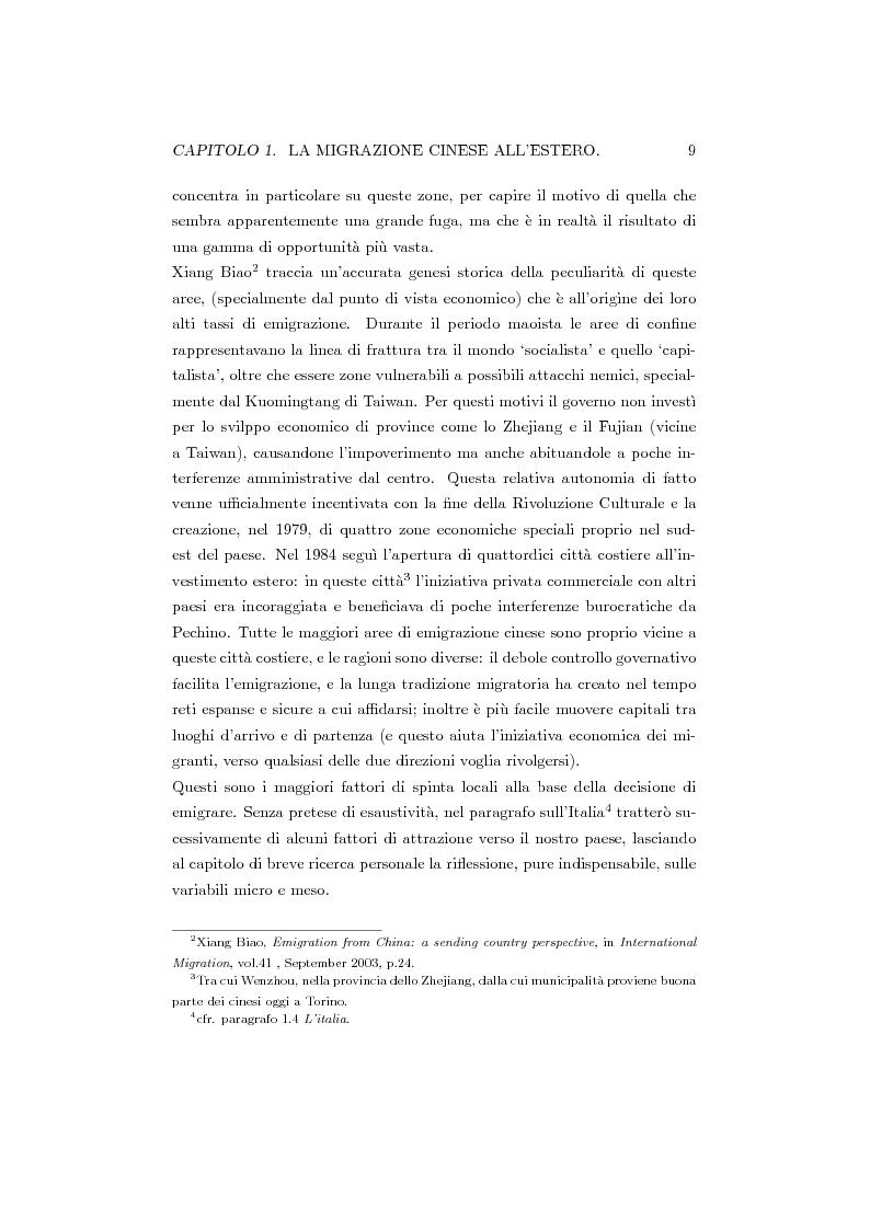 Anteprima della tesi: Cinesi di seconda generazione a Torino, Pagina 6