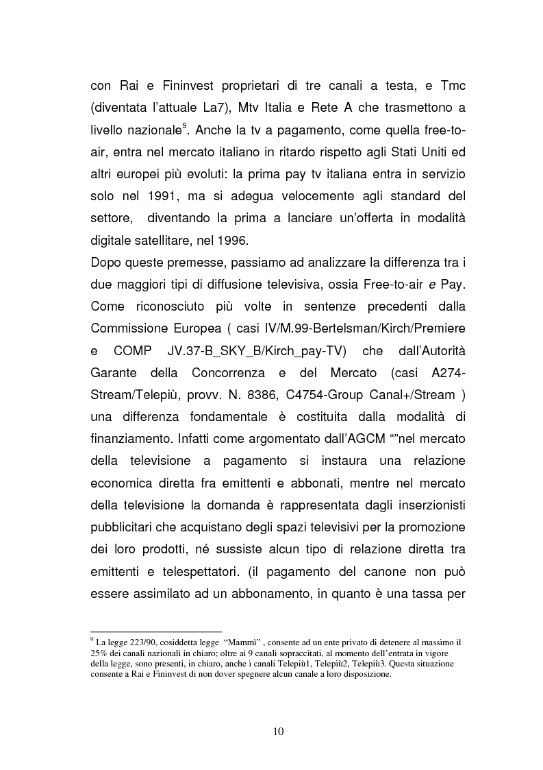 Anteprima della tesi: I diritti televisivi nel calcio: dalla nascita allo sviluppo, Pagina 10