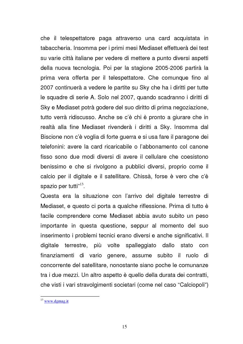 Anteprima della tesi: I diritti televisivi nel calcio: dalla nascita allo sviluppo, Pagina 15