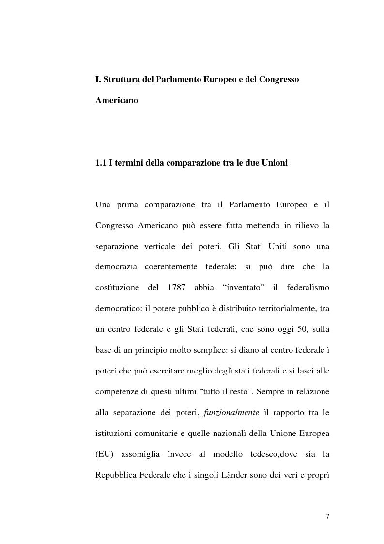 Anteprima della tesi: Il Parlamento: una comparazione tra il sistema statunitense e l'Unione Europea, Pagina 5