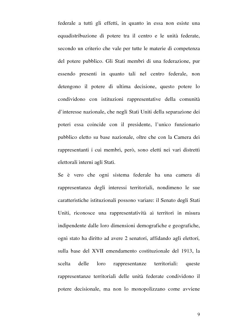 Anteprima della tesi: Il Parlamento: una comparazione tra il sistema statunitense e l'Unione Europea, Pagina 7