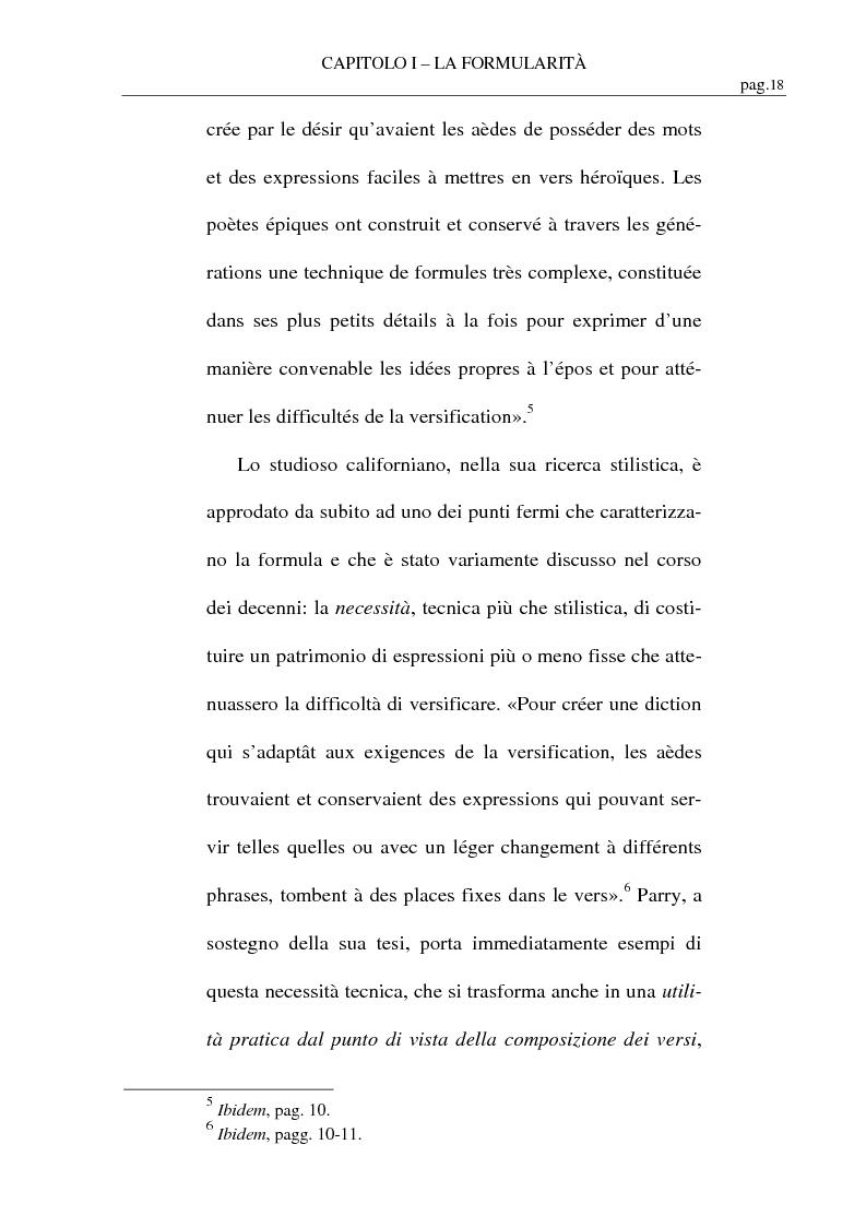 Anteprima della tesi: La formularità in Ennio, Pagina 9