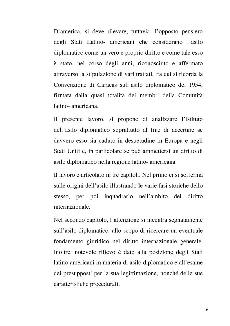 Anteprima della tesi: L'asilo diplomatico, Pagina 4