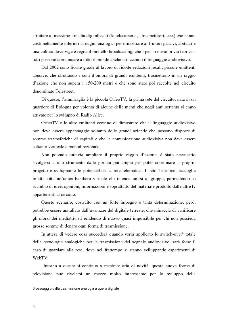 Anteprima della tesi: La televisione contro la televisione, Pagina 2