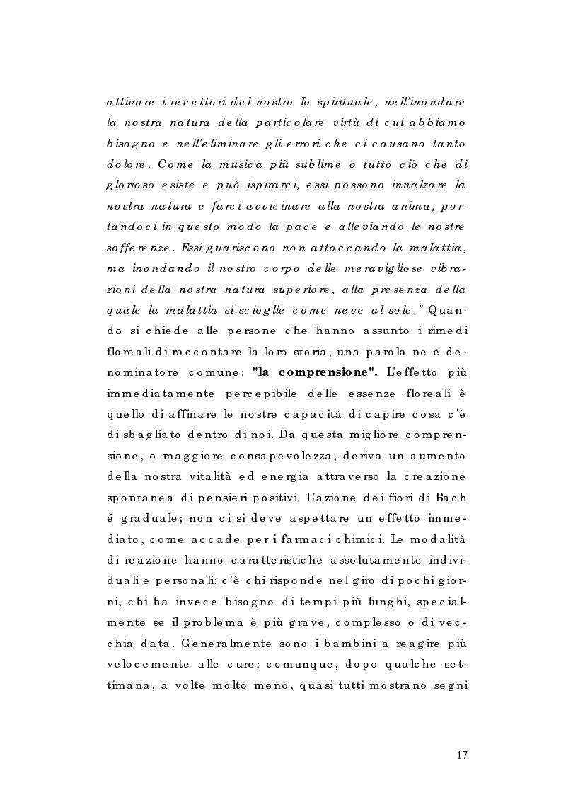 Anteprima della tesi: I Rimedi di Edward Bach ed altri, tra storia, leggende e tradizioni, Pagina 13