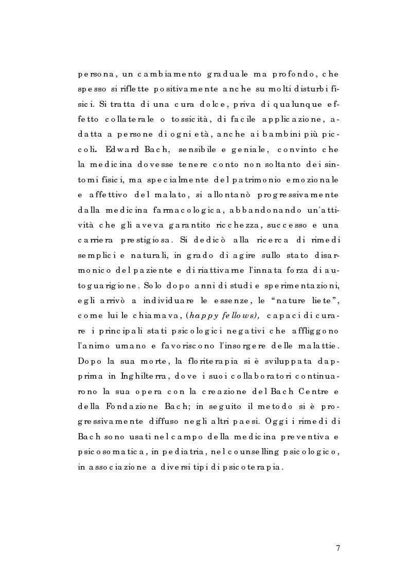 Anteprima della tesi: I Rimedi di Edward Bach ed altri, tra storia, leggende e tradizioni, Pagina 3
